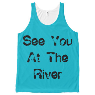 See You At The River All-Over-Print Tank Top