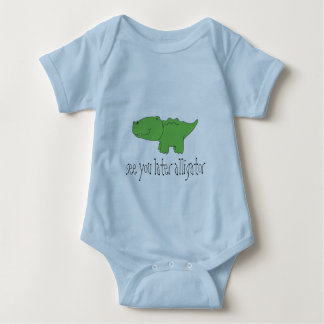 See You Later Alligator Baby Bodysuit