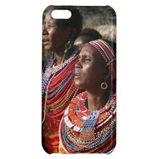 Seed Beads Jewellery from the Massai in Kenya Cover For iPhone 5C