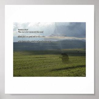 Seed & Faith Poster