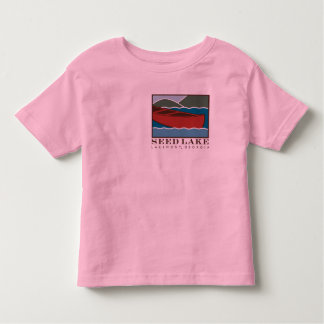 Seed Lake - Big canoe on front Toddler T-shirt