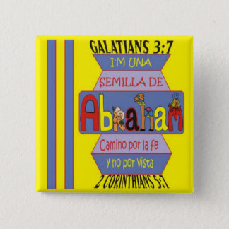 SEED OF ABRAHAM© BtnESP 2 Inch Square Button