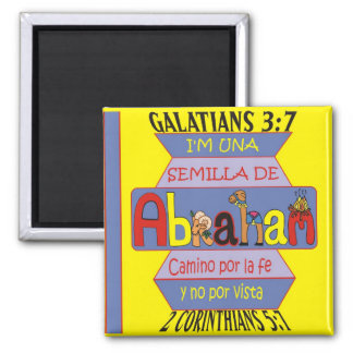 Seed of Abraham Esp Square Magnet