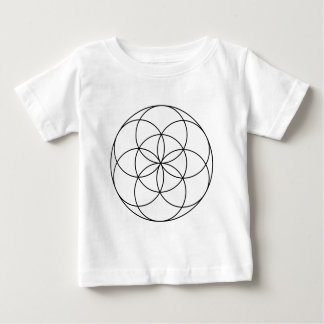 Seed of Life 4 Baby T-Shirt