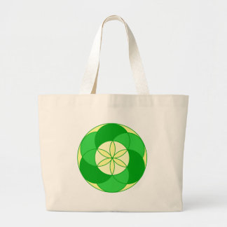 Seed of Life Angel 15 Large Tote Bag
