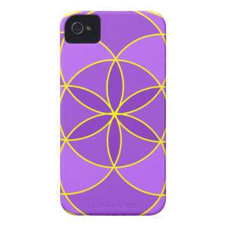 Seed of Life Angel 17 Case-Mate iPhone 4 Cases