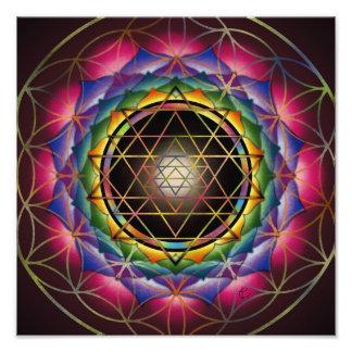 Seed of Life Mandala Art Photo