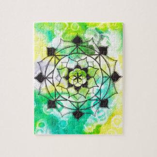 Seed of Life Mandala Puzzle