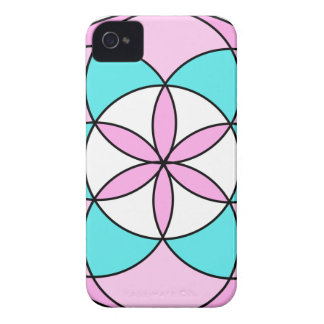 Seed of Life Pink Case-Mate iPhone 4 Case