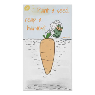 Seed Planting Poster