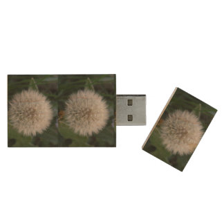 Seeding Dandelion Flower USB Flash Drive
