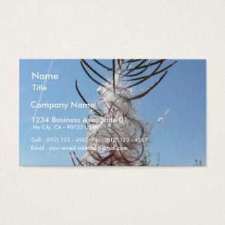 Seeding Flower Business Card