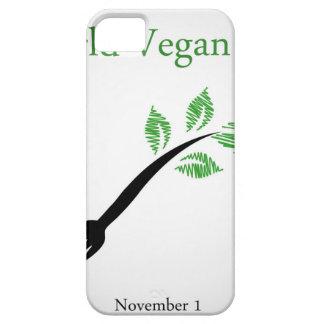 Seedling from a fork- World vegan day November 1 iPhone 5 Case