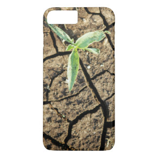 Seedling In Cracked Earth iPhone 7 Plus Case