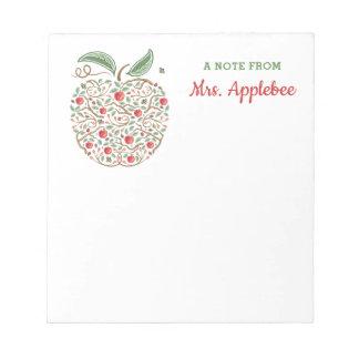 Seeds of Knowledge Teacher's Apple Note Pad