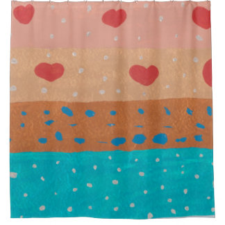 Seeds of Love Shower Curtain