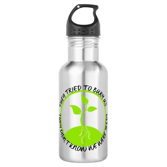 Seeds Water Bottle