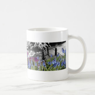 Seeing color in a black and white world coffee mug