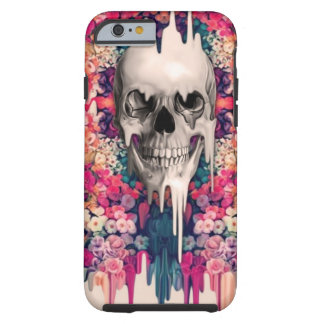 Seeing Color Melting Sugar Skull Tough iPhone 6 Case