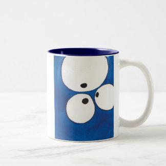 Seeing Eye to Eye to Eye, Blue, Mug