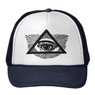 Seeing Eye Trucker Hat