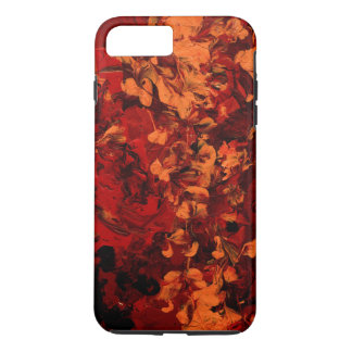 SEEING RED (Abstract Art design) ~ iPhone 7 Plus Case