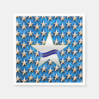 Seeing Stars Veterans Day Party Paper Napkins