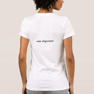 seek alignment tshirt