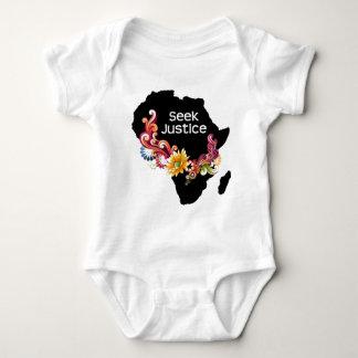 Seek Justice Baby Bodysuit