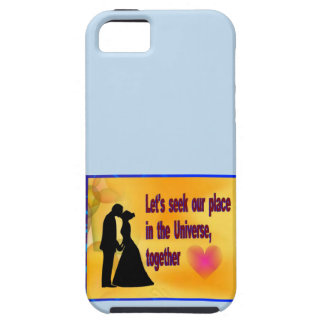 Seek our Place in Universe iPhone 5 Case