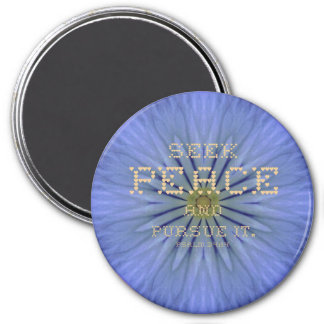 Seek Peace Magnet