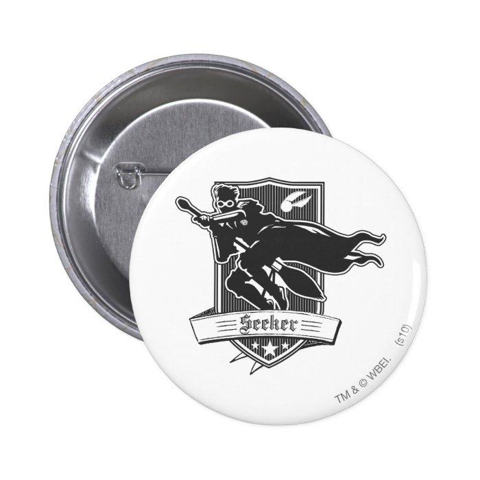 Seeker Badge 2 Inch Round Button