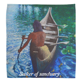 Seeker of sanctuary bandana