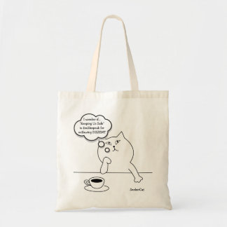 SeekerCat Dissent Tote Bag