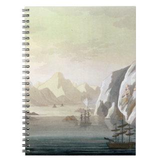 Seeking the North West Passage - the British Voyag Spiral Notebooks