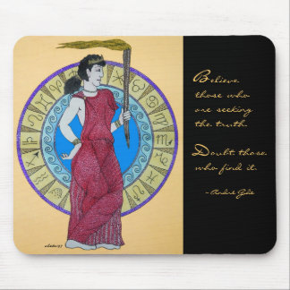 Seeking the Truth ~ Gide Mouse Pad