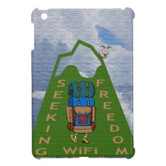 Seeking WiFi Freedom Hiker Design Cover For The iPad Mini