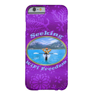 Seeking WiFi Freedom Kayaker Design Barely There iPhone 6 Case