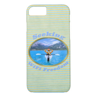 Seeking WiFi Freedom Kayaker Design iPhone 8/7 Case