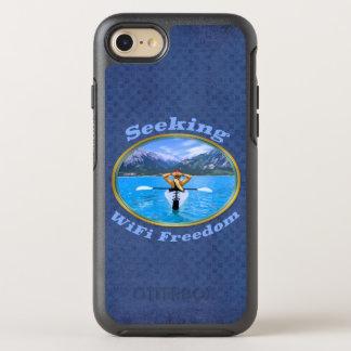 Seeking WiFi Freedom Kayaker Design OtterBox Symmetry iPhone 8/7 Case