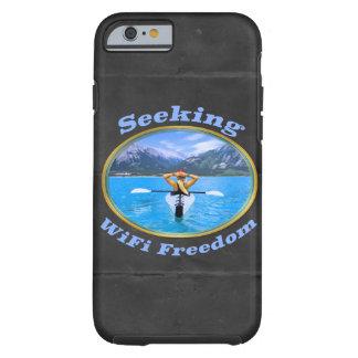 Seeking WiFi Freedom Kayaker Design Tough iPhone 6 Case