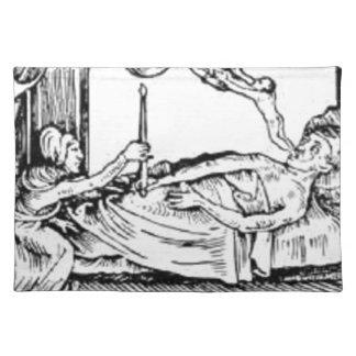 Seele Entweicht - Soul Leaving Body Placemat