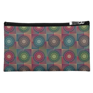 Seemless Abstract Pattern Cosmetic Bag