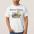 """Seems Likely"" Noah's Ark shirt"