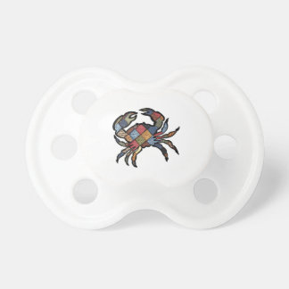 SEEN IN PLAID PACIFIERS