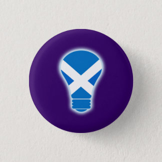 Seen the Light Scottish Independence Pinback 1 Inch Round Button