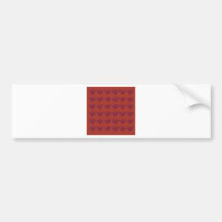 Seeweeds design Ethno elements Bumper Sticker