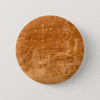 Sego Canyon Petroglyphs, Utah 2 Inch Round Button