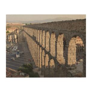 Segovia Aqueduct, Segovia Spain Wood Wall Art