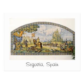 Segovia, Spain 2015 Calendar Postcard